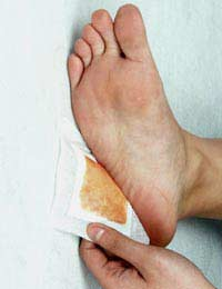 Detox Foot Patches Reflexology Waste